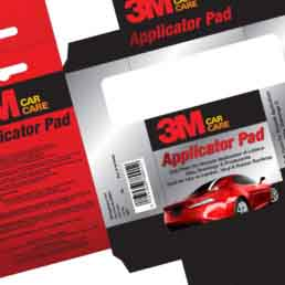3M Car Care Branding Work