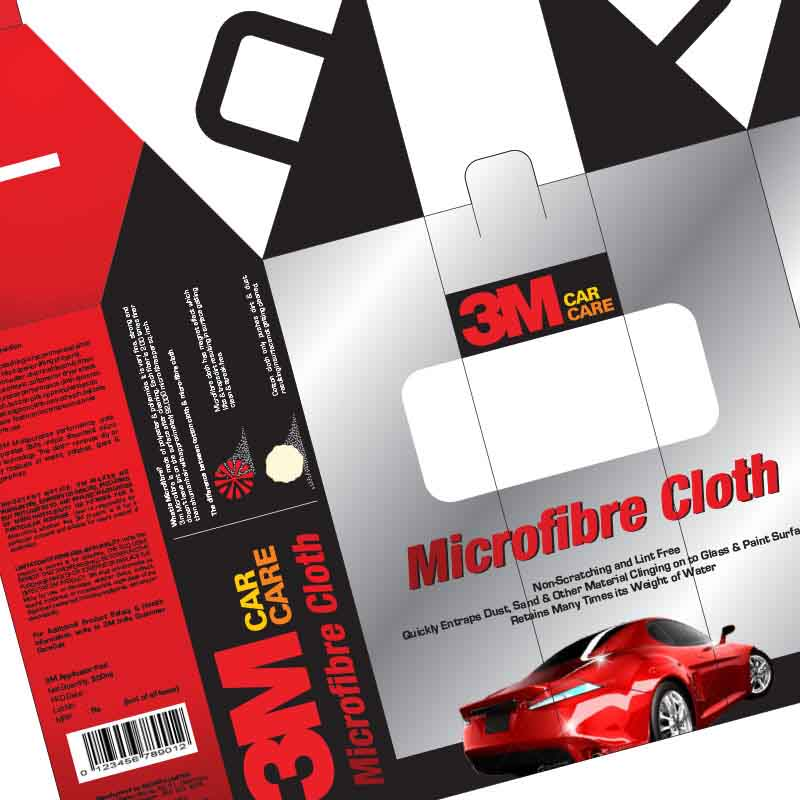 Branding - 3M | Car Care Branding | Packaging, Bottle, Label