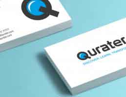 Qurater Visiting Cards Design