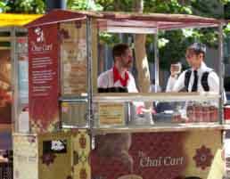 Chai Cart Branding