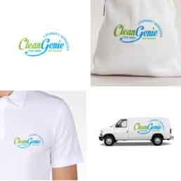 Clean Genie Brand Identity