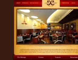 Copper Chimney Website Design