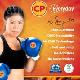 CP Foods MC Mary Kom