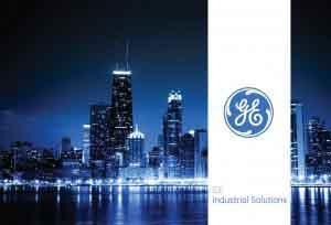 Crosspollen Portfolio GE Industrial Solutions