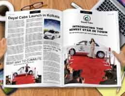 Dayal Cabs Brand Identity