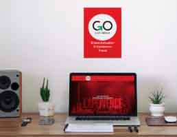Go Live Media Brand Identity