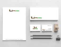 Ingu Tengu Stationery Design