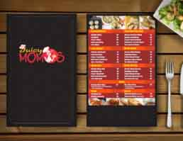 Juicy Momos Packaging Design