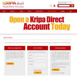Kripa Direct Logo Design