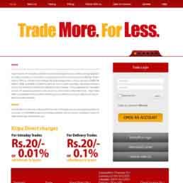 Kripa Direct Website Design