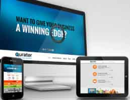Qurater Website Design
