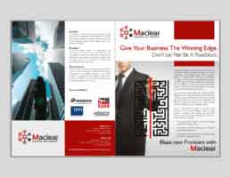 Maclear Brochure Design