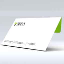 Terra Envelope Design