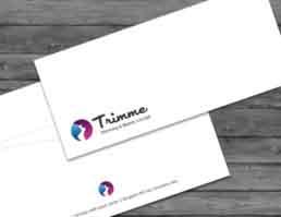 Trimme Brand Logo Design