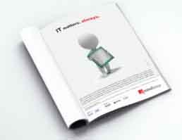 Mindlance Print Ad Design