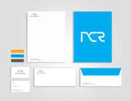 NCR Solutions Stationery Design
