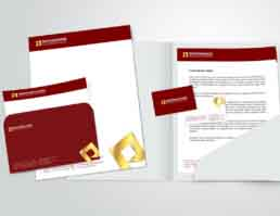 Ratanchand Jewellers Stationery Design