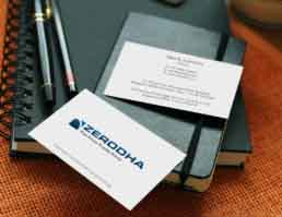 Zerodha Stationery Design