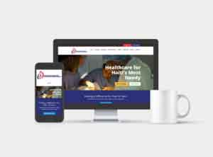 AHDH Website Design
