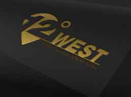 12 Degrees West Logo